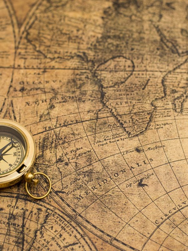 old compass on vintage mapold compass  on vintage mapold compass  on vintage map